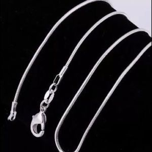 """Jewelry - Sterling Silver 24"""" chain."""